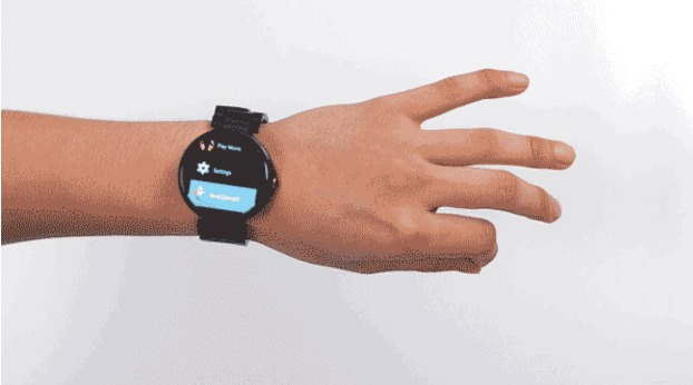 Operate Your Smart Watch Without Touching