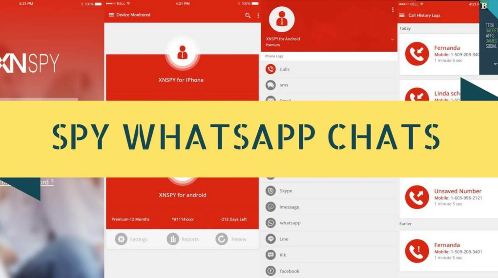 Spy WhatsApp Chats with This WhatsApp Chats Monitoring Application For Andriod