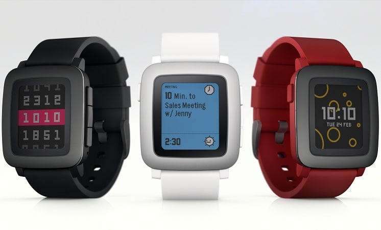 pebble new wearables