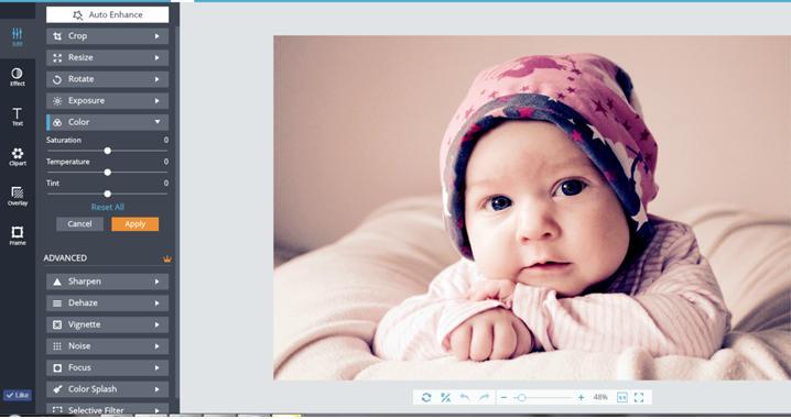 Fotojet Image Editing