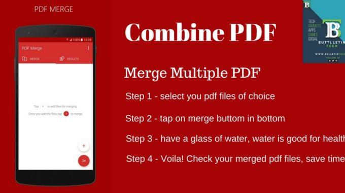 PDF Merge – A New Document Management App