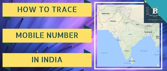 Trace Mobile Number-In-India