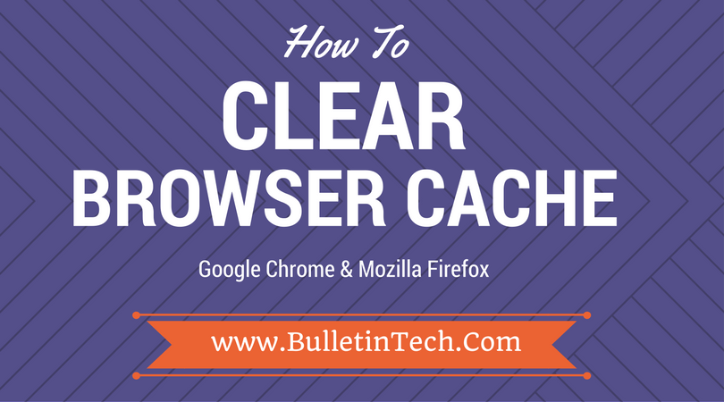 how to delete browser cache in chrome