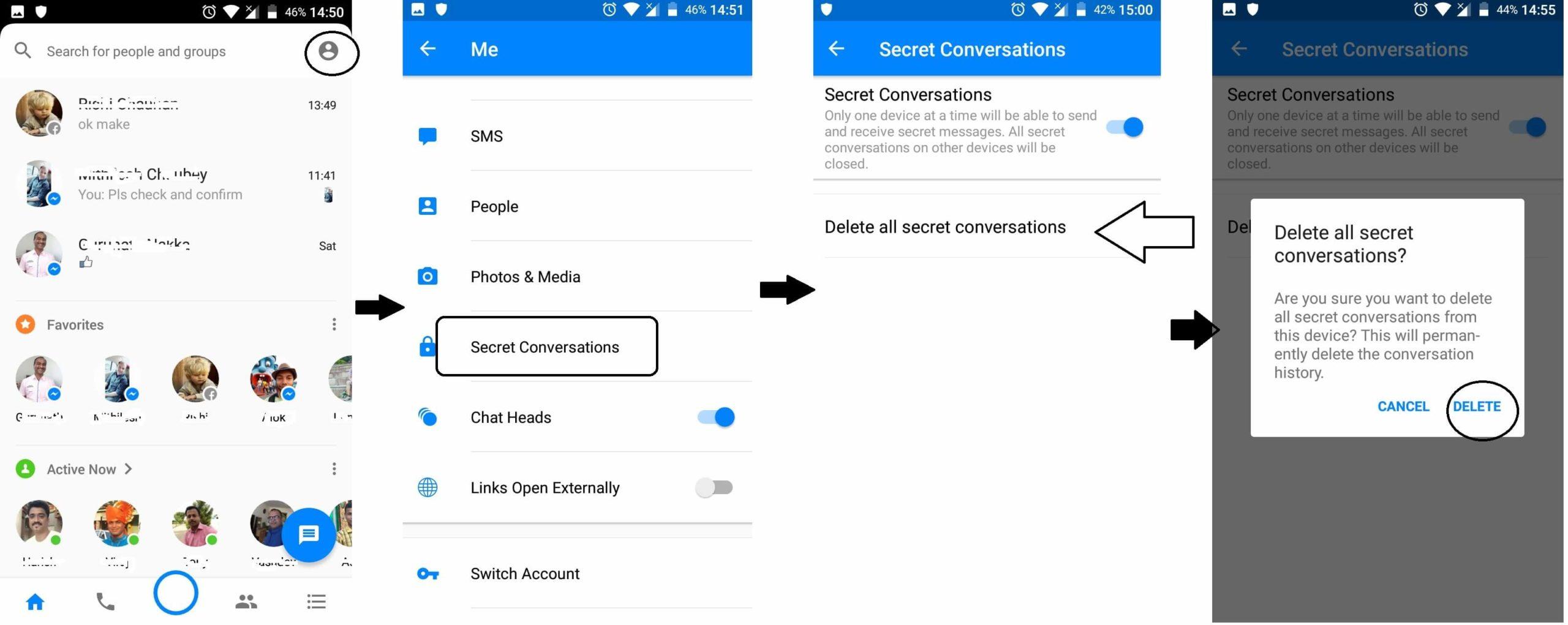 Delete Secret Conversations (2)