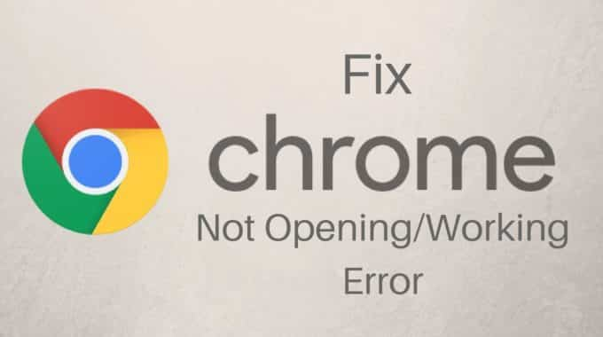 How to fix Google Chrome has stopped working error in Windows